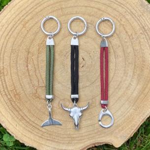 Porte clef en paracorde personnalisable